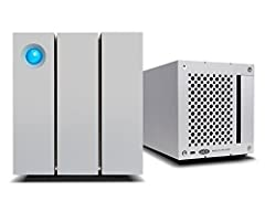Ideal for photographers, indie filmmakers, and YouTubers, 2big Thunderbolt 2 is an external desktop storage solution offering up massive space and powerful speeds. Compatible with Thunderbolt 2 and USB 3.0, 2big is perfect for mini PCs, strea...