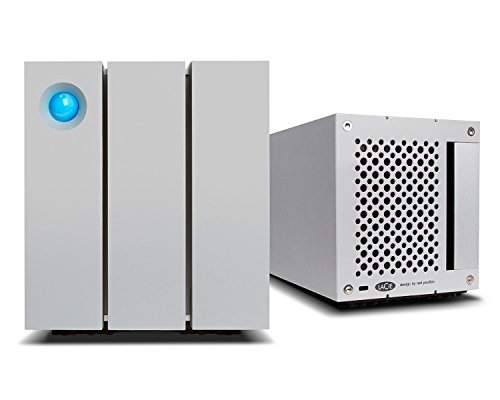 Desktop Safe Hard Lacie Drive - LaCie 2big Thunderbolt 2 RAID 8TB External Hard Drive Desktop HDD - USB 3.0 7200 RPM Enterprise Class Drives, for Mac and PC Desktop Data Redundancy (STEY8000400)