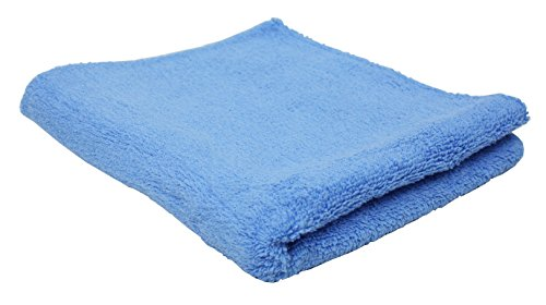 J&M Home Fashions, 100% Cotton Bath Towels, Lightweight and Absorbant25x50, 36-Piece, Ocean Blue