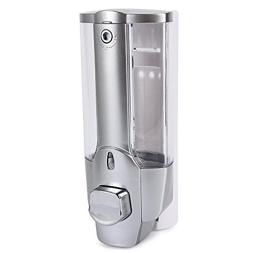 YUFENG 350ml Wall Mount Shower Bath Soap Shampoo Dispenser with a Lock for Bathroom Washroom (Electronic Liquor Dispenser compare prices)