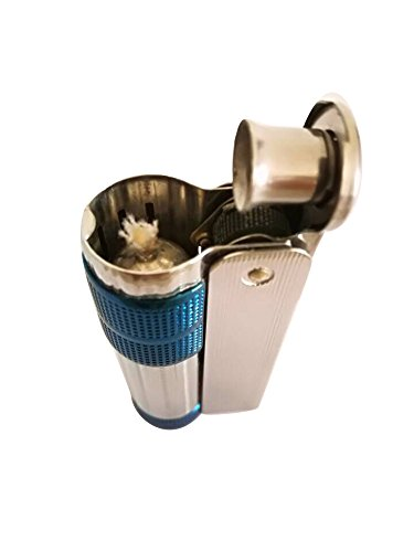 Blue Ice Flame Lighter (IMCO6700 Blue Ice Lighter Cool And Rare Old Stock)