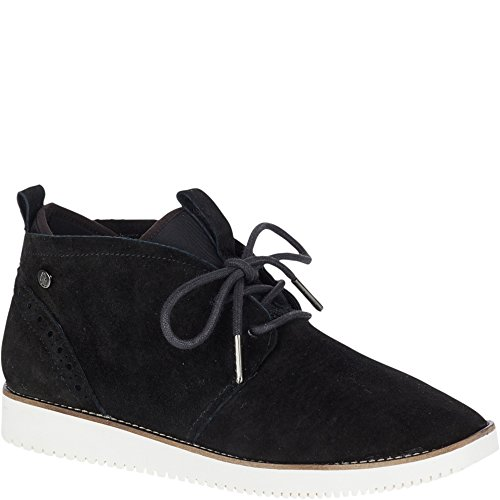 Hush Puppies Womens Chowchow Chukka In Pelle Scamosciata Nera