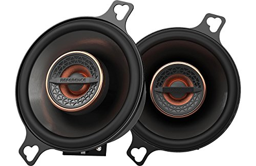 Infinity REF3022CFX 3.5' 75W Reference Series Coaxial Car Speakers With Edge-driven Textile Tweeter,...