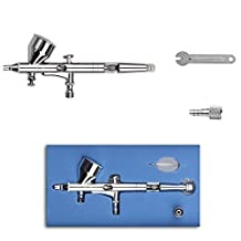 GaGa MILANO SP180 Professionl 0.2mm Double-action Trigger Air-paint Control Airbrush for for General-purpose Art-and-craft Projects Tattoo Model-railroad Detailing R/C Car Bodies Plastic Kits by GaGa MILANO