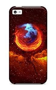 Hot Tpu Cover Case For Iphone/ 5c Case Cover Skin - Hd Space