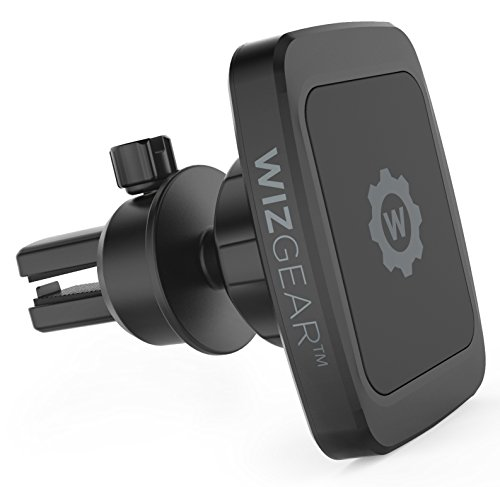 Magnetic Phone Car Mount, WizGear Universal Bite-Lock Air Vent Magnetic Phone Car Mount Holder, for Cell Phones with Swift-snap Technology