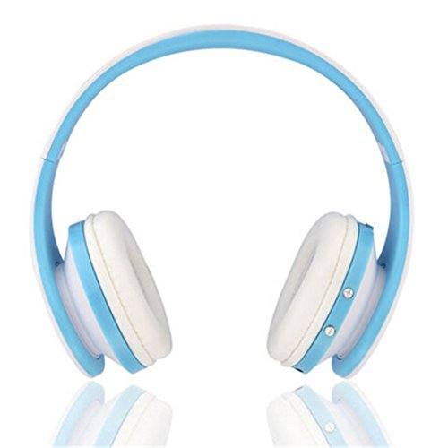 TraveT Bluetooth Wireless Foldable Stereo Headphone for I...