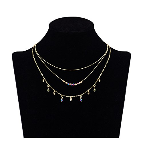 Boosic Tassel Minimal Choker Necklace
