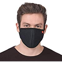 ASG KUBER 6 Layered Mask | Washable, Breathable, Lightweight & Reusable Cover | For Adult, Men & Women | Filter, Elastic Earloop & Triple Filtration System | Comfortable & Easy to Wear (1)