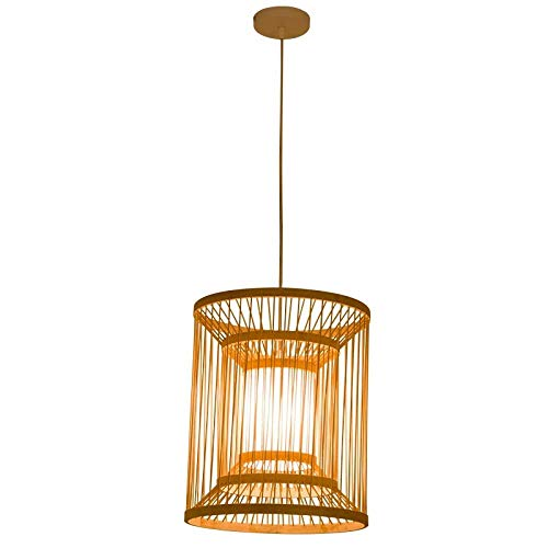 Chandelier-Japanese Chandelier Bamboo Braided Southeast Asia Zen New Chinese Creative Personality Restaurant Tatami Clothing Store Restaurant Lamps