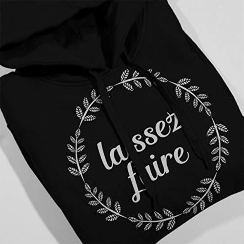 Men's Faire Slogan Hooded Laissez Coto7 Sweatshirt Black French wIq4tIO