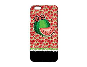 Watermelon Pattern Plastic Phone Case for Iphone 6