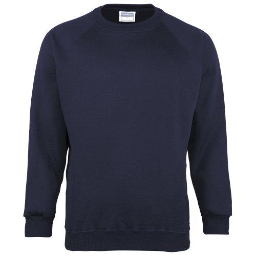 Maddins - Sweatshirt - Homme (S) (Bleu marine)