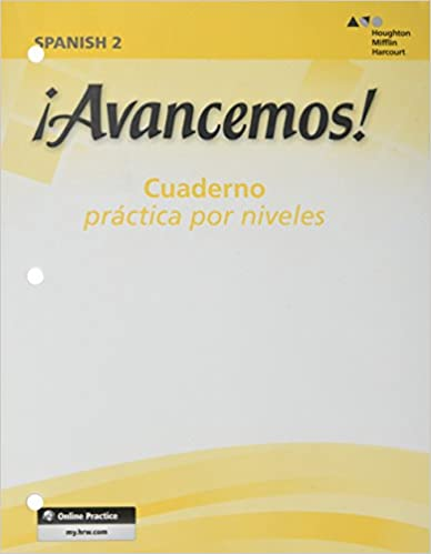 Amazon Com Avancemos Cuaderno Practica Por Niveles 2 Revised Spanish Edition 9780618765942 Mcdougal Littel Books
