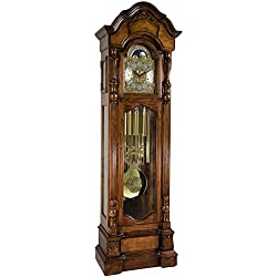 Hermle 010953041171T Anstead Grandfather Clock Tubular Chimes - Aberdeen Oak