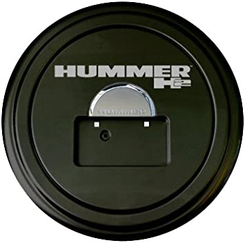 Spare Wheel Tire Cover For Hummer H2 Black Spare Tire Cover