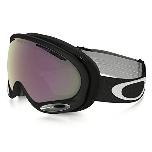 A-frame Skis - Oakley A-Frame 2.0 (A) Goggles, Jet Black, Prizm Hi Pink, Medium