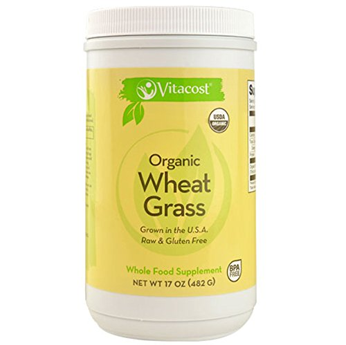 Vitacost Whole Food Organic Wheat Grass - Powder -- 17 oz