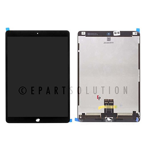 [해외]ePartSolution_iPad Pro 10.5 \\ / ePartSolution_iPad Pro 10.5 A1701A1709 LCD Display Touch Screen Digitizer Assembly Replacement Part USA Seller (Black)