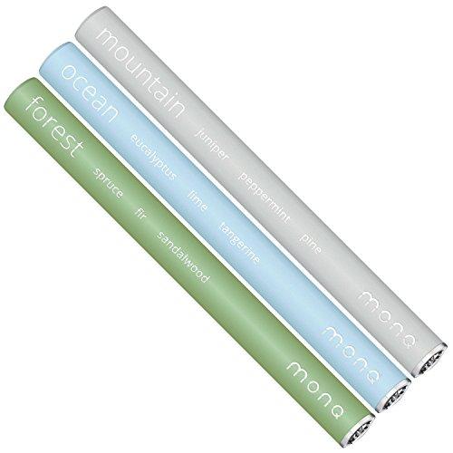 MONQ - Portable Essential Oil Diffuser - 3 Blends