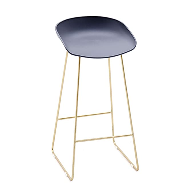 Amazon.com: Barstool Bar Chair Fashion Wrought Iron Bar ...