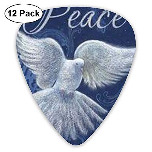 itar Picks-Peace-Dove Picks Accessories,12 PCS ()