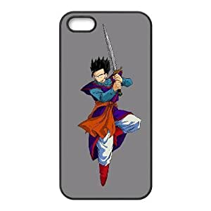 HD exquisite image for iPhone 5 5s Cell Phone Case Black son gohan dragon ball z Popular Anime image WUP8091007