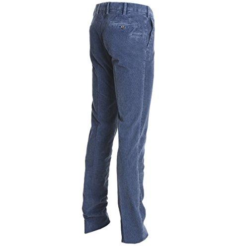 Pt01 Pantaloni Uomo CPDLFDTU110551 Cotone Blu