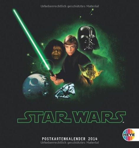 Star Wars 2014. Postkartenkalender