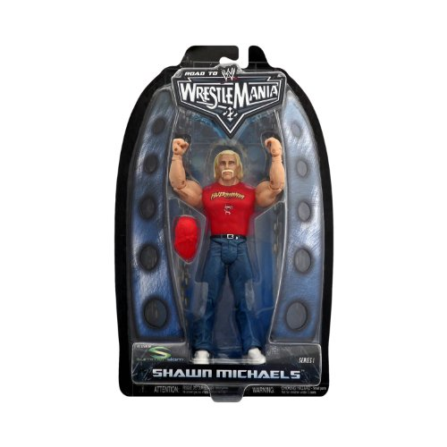 WWE Road To Wrestlemania Shawn Michaels Dressed as Hulk Hogan Figure - Toys R Us Exclusive by WWE