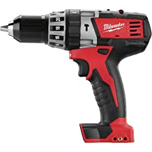Milwaukee 2602-20 M18 18-Volt Cordless 1/2-Inch Hammer Drill/Driver ,Tool Only, No Battery