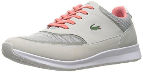 Lacoste Women's Chaumont Lace 316 2 Spw Lt Gry Fashion Sneaker, Light Grey, 6.5 M US