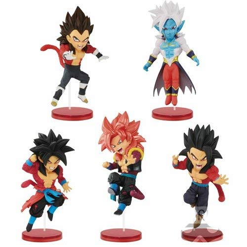 Super Dragon Ball Heroes World Collectable Figure vol.3 All 5 Complete Set