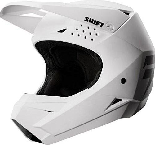 [해외] Shift 시프트 WHITE LABEL HELMET 2018모델 오프로드 헬멧 매트 화이트 XS(53~54cm)
