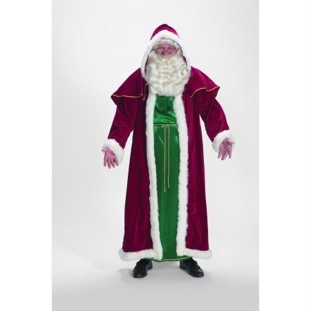 - Halco 7755 Deluxe Victorian Cape and Tunic Santa Suit