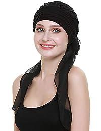 020295d0d40 Chemo Headwear Turbans For Women Long Hair Head Scarf Headwraps Cancer Hats