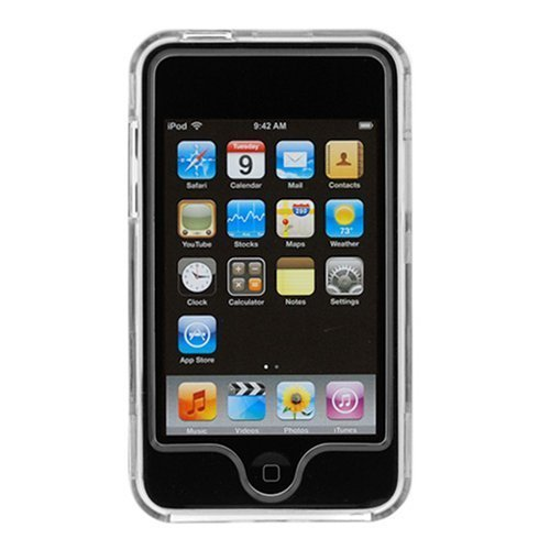 Generic NEW Clear Transparent Front + Rear Snap-on HARD CASE COVER FOR APPLE iPOD TOUCH 2 3 2ND 3RD GEN