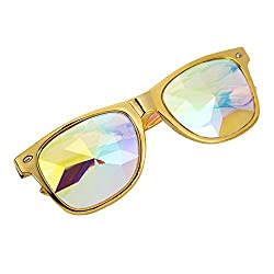 Rainbow Rave Prism Diffraction Crystal Lens Sunglasses