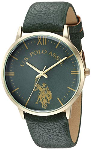 U.S. Polo Assn. Women's Analog Quartz Watch with Patent Leather Strap USC50358