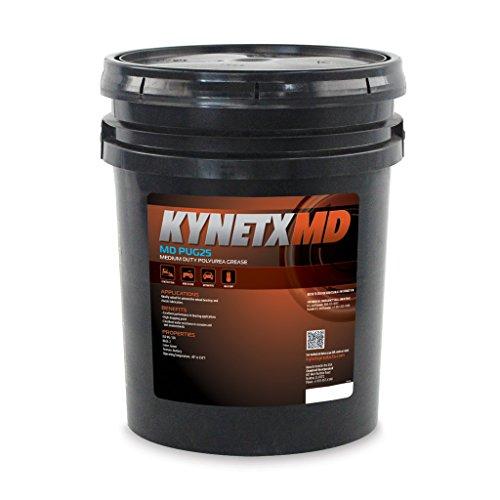 Kynetx Polyurea Grease, MD PUG25, 35 Lb. Drum, PUG2512000-KN5021, Medium Duty Automotive, Construction, Industrial, Corrosion Resistant, Extreme Pressure, High Performance Machine Lubricants, Grade 2 by Kynetx (Image #1)