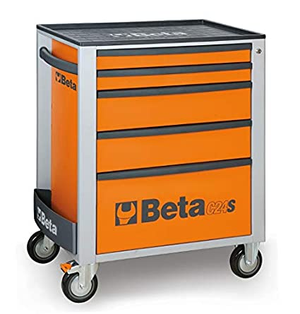 Beta 024002051 - C24S/5-O-Cajonera Móvil 5 Cajones Orange