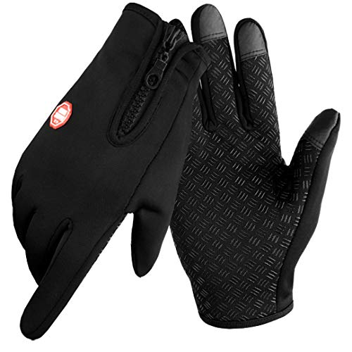Aotlet Mens Gloves or Women Gloves Thermal Winter Christmas Cycling Gifts for men or women Waterproof Gloves Touch…
