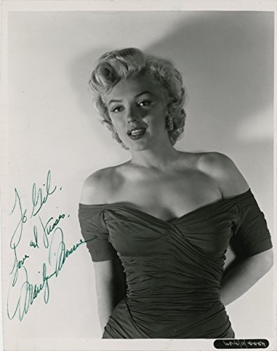 d Autographed 8 X 10 Reprint Photo - Mint Condition (Marilyn Monroe Signed)