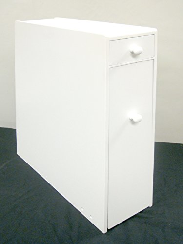 Proman Products Bathroom Floor Cabinet Wood in Pure White by Proman Products (Image #8)