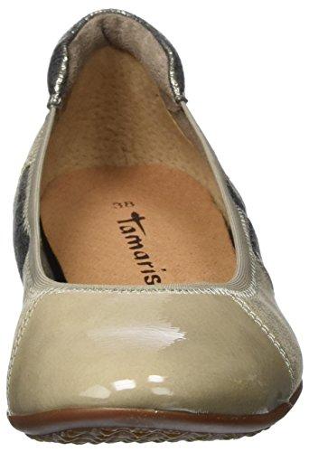 Tamaris 22102, Bailarinas Para Mujer Marrón (Pepper Comb)