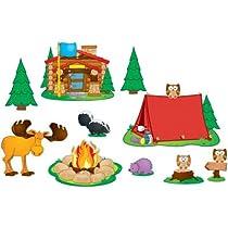 Carson Dellosa Camping Bulletin Board Set (110146)