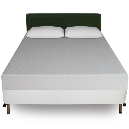 Sleep Master 8-Inch Memory Foam Mattress and Bi-Fold Box ...