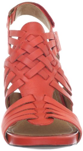 CLARKS Women's Rosa Central Sandal Red sale popular pJ9u4k
