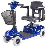 Four Wheel Mini Scooter, Blue