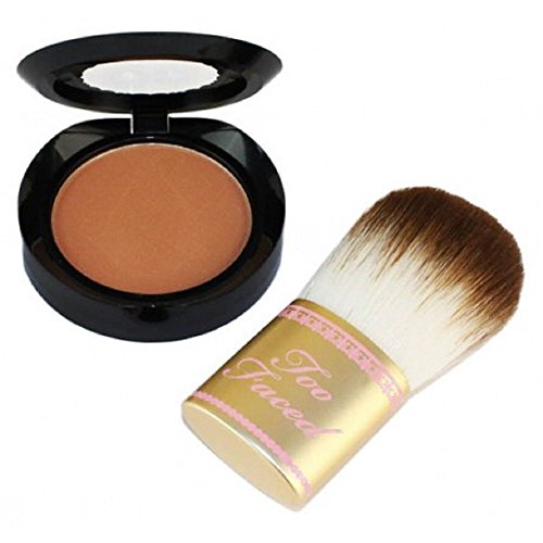 Discount TOO FACED Tan Without the Twinkle - Chocolate Soleil Bronzer & Flatbuki Brush supplier